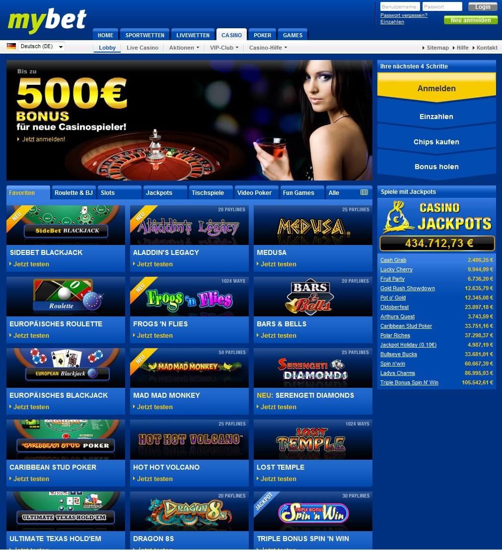 Casino Comme Mybet